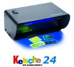 Leuchtturm Nr. L92 / 317886 Geldscheinprüfer UV Ultraviolett Tischlampe zur Fluoreszenz Bestimmung 4 Watt - Vorschau