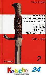 LÜBBE Deutsche Seitengewehre und Bajonette 1740 - - Vorschau