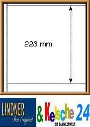 LINDNER 10 Multi Big-Blätter 1370 schwarz 223mm 1 S - Vorschau
