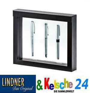 LINDNER 4831 NIMBUS 230 Sammelrahmen Schweberahmen 3D Für Taschenuhren - Armbanduhren - Uhren - Schmuck - Vorschau 3