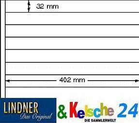 LINDNER Ergänzungsblatt 5518 mit 8 Streifen 5 Blatt - Vorschau