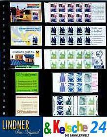 LINDNER Klarsichthülle für 5 Heftchen 78x50+160x50 - Vorschau