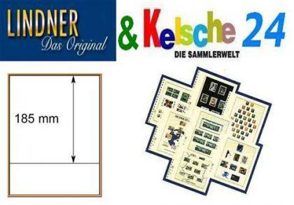 LINDNER T-Blanko-Blätter m. 1 Streifen 10er Pack 80 - Vorschau