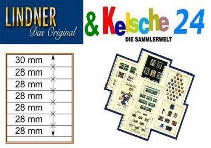 LINDNER T-Blanko-Blätter m. 7 Streifen 10er Pack 80 - Vorschau