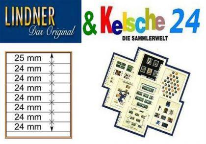 LINDNER T-Blanko-Blätter m. 8 Streifen 10er Pack 80 - Vorschau