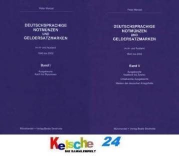 MENZEL Deutsche Notmünzen und Geldersatzmarken Band - Vorschau