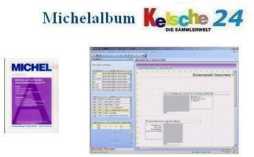 MICHELalbum Programm mit Daten Europa Band 1 bis 4