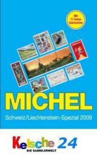 MICHEL Schweiz Liechtenstein mit Ganz. 2009 + ETB B - Vorschau