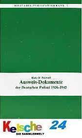 PATZWALL Ausweis Dokumente d. Deutschen Polizei 193
