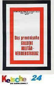 Patzwall Das preußische Goldene Militär Verdienstkr - Vorschau