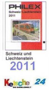 Philex Schweiz + Liechtenstein BriefmarkenKatalog 2 - Vorschau