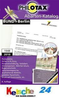 PHILOTAX Abarten-Katalog Bund + Berlin DVD 2010 - Vorschau