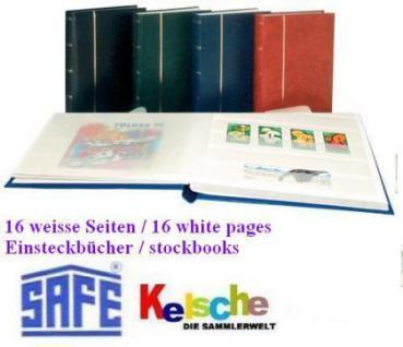 SAFE 110 Einsteckbuch / Album 16 weisse Seiten A4 B - Vorschau