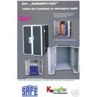 SAFE 201 ALU SAMMLER-SAFE Koffer mit Griff (leer) Für Briefmarkenalben Münzalben Banknotenalben - Vorschau 1