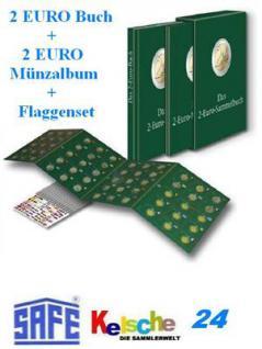 Bassermann Das 2 Euro Sammelbuch 96 Seit. +2€ MÜnza - Vorschau