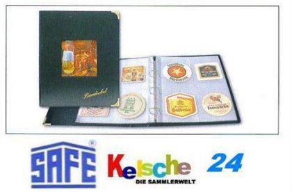 SAFE 4118 DESIGN Bierdeckel Album Sammelalbum A4 mit 10 Hüllen Ergänzungsblättern SAFE 495 für 80 Bierdeckel - Vorschau