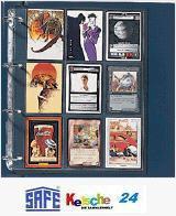 10 x SAFE Hüllen Spezialblätter A4 Yu-Gi-Oh Cards