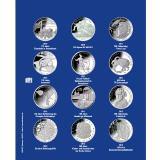 1 x SAFE 7310-5 TOPset Erganzungsblatt Münzblätter + Vordruckblatt Deutsche 10 Euromünzen 2010 - 2012