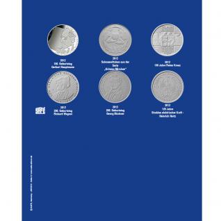 1 x SAFE 7310-7 TOPset Erganzungsblatt Münzblätter + Vordruckblatt Deutsche 10 Euromünzen 2014 - 2015