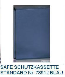 SAFE 7891 Blaue Schutzkassette für SAFE 7817 - 7317 Topset Münzalbum & SAFE Coin Compact 7890 - 7810