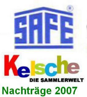SAFE dual Jahresschmuckblätter Deutschland 2007 - Vorschau