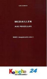 Scheuch Medaillen aus Porzellan u. Ton Bd 1 Orte A - Vorschau