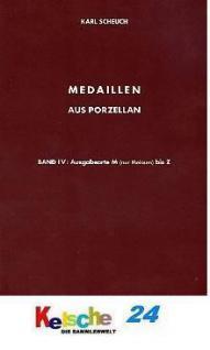 Scheuch Medaillen aus Porzellan u. Ton Bd 4 Orte M - Vorschau