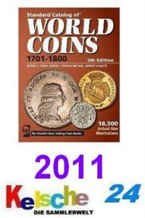 Standard Catalog of World Coins 1701-1800 2011 NEU - Vorschau