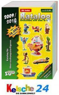 SU Ü-EI Katalog Spielzeug aus dem Ei 2009-10 PORTOF - Vorschau