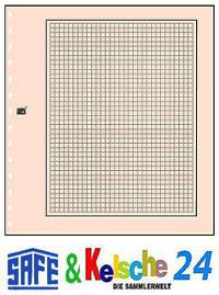 SAFE 10 Karton-Blankoblätter Hellchamois Netzdruck - Vorschau