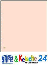 10 x SAFE 782 Karton Blankoblätter hellchamois ohne Druck - Vorschau
