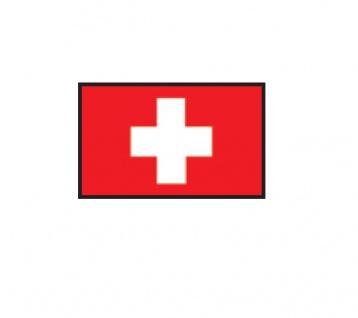 1 x SAFE 1175 SIGNETTE Flagge Schweiz - Swiss - Suisse Aufkleber Kennzeichnungshilfe - selbstklebend
