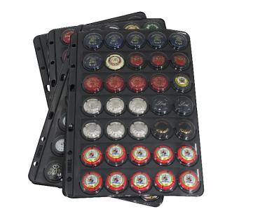 LINDNER 3507-S Kassette Schutzkassette Schwarz für das Champagnerdeckel Album 3505 - Vorschau 3