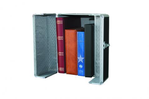 SAFE 201 ALU SAMMLER-SAFE Koffer mit Griff (leer) Für Briefmarkenalben Münzalben Banknotenalben - Vorschau 4