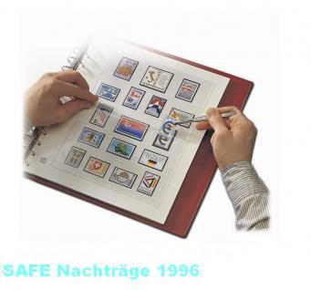 SAFE 1696 dual Nachträge - Nachtrag / Vordrucke Deutschland Jahresschmuckblätter - 1996
