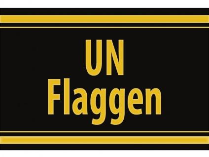 """1 x SAFE 1130 SIGNETTE Aufkleber selbstklebend """" UN Flaggen """""""
