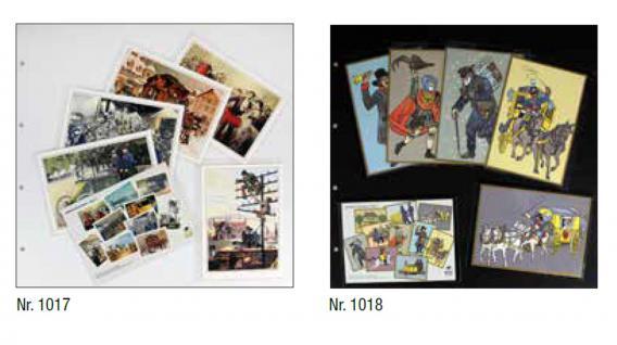 5 x SAFE 1017 Ergänzungsblätter weiß 350x335 mm für Postkarten Ansichtskarten zum selbst gestallten