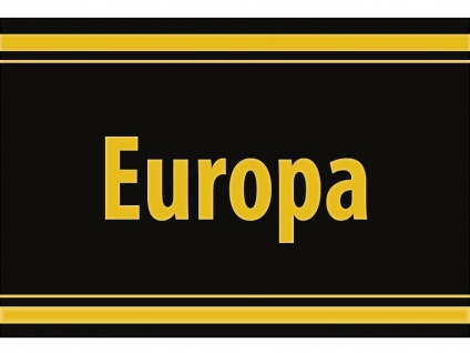 "1 x SAFE 1130 SIGNETTE Aufkleber selbstklebend "" Europa """