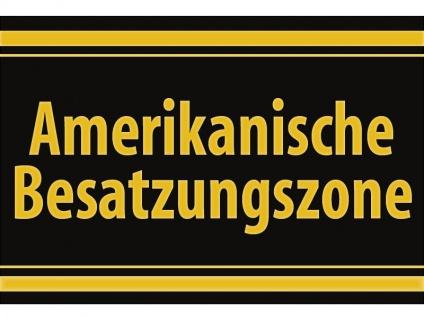 """1 x SAFE 1130 SIGNETTE Aufkleber selbstklebend """" Amerikanische Besatzungszone """""""