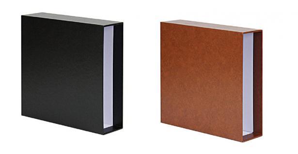 1 x KOBRA AK24 Einsteckblätter Ergänzungsblätter glasklar 4 Taschen 162 x 154 mm Für Banknoten Einsteckkarten Belege Postkarten Bierdeckel - Vorschau 5