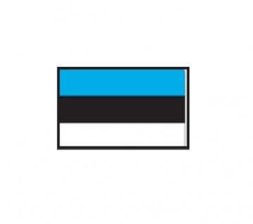 1 x SAFE 1175 SIGNETTE Flagge Estland - Estonia Aufkleber Kennzeichnungshilfe - selbstklebend