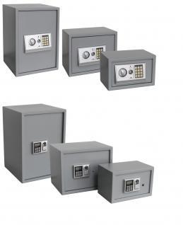 """SAFE 3990 Security Tresor """" Mini """" Möbeltresor Wandtresor Schliessfach Banksafe mit elektonischem Zahlenschloss 310x200x200 mm - Vorschau 4"""