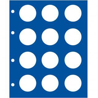 1 x SAFE 7826 TOPset Münzblätter Erganzungsblätter Münzhüllen für 2 Euromünzzen in Münzkapseln Caps 26