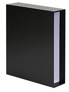 SAFE 484 Schwarze Schutzkassete für SAFE 480-5 - 481 Premium Collection Compact A4 Ringbinder Album