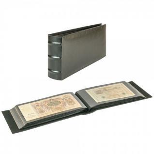LINDNER 812L-S Firmo L Universal Album Sammelalbum Schwarz Lang 245 x 132 mm Für 108 Briefe FDC Postkarten Ansichtskarten Banknoten Geldscheine