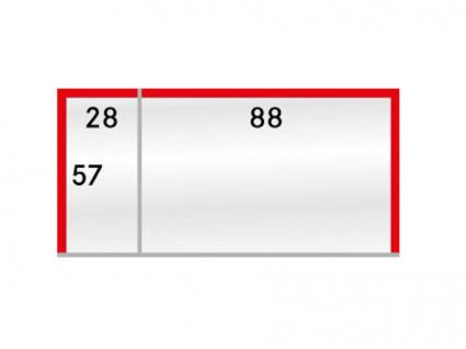 100 LINDNER 877P Schutzhüllen Klarsichthüllen Telefonkarten mit Preis Etiketten 88 x 57 & 28 x 57 mm