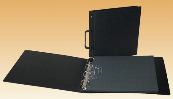 10 KOBRA AK2C Schwarze Zwischenblätter ZWL für die AK Einsteckblätter AK21 AK22 AK24 AK26Q AK26H - Vorschau 3