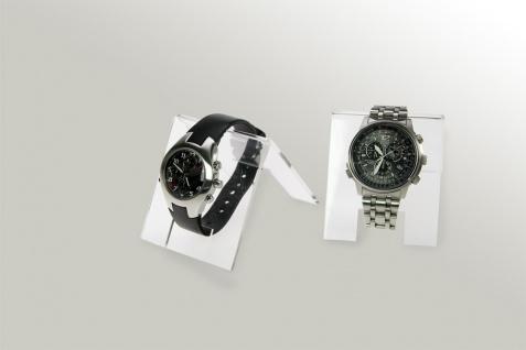 3 x SAFE 5278 ACRYL Deko Aufsteller Uhrenhalter H 90 x L 70 x T 65 mm für Uhren Damen Herren Kinder Armbanduhren Vitrinen - Vorschau 3