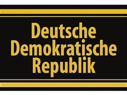 """1 x SAFE 1130 SIGNETTE Aufkleber selbstklebend """" Deutsche Demokratische Republik """""""