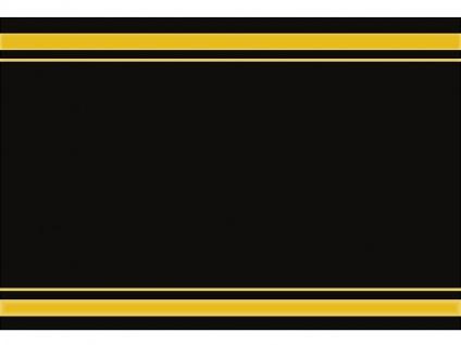 1 x SAFE 1130 SIGNETTE Aufkleber Etikett neutral nur mit Goldlinien